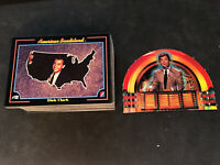 1993 COLLECT-A-CARD DICK CLARK AMERICAN BANDSTAND COMPLETE (100) CARD SET