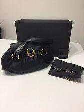 Women's Bvlgari Black Leather Handbag