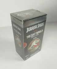 New - Jurassic Park & The Lost World VHS Box Set + The Real Jurassic Park Sealed