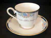 "Lenox Debut Collection Fine Bone China ""Abigail"" Tea Cup and Saucer NWT"
