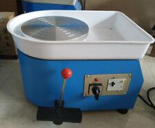 25CM Pottery Wheel Ceramic Machine for Ceramic Work Clay Art Craft 110V or 220V