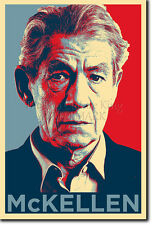 IAN MCKELLEN ART PHOTO PRINT (OBAMA HOPE) POSTER GIFT LOTR