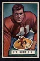 1951 Bowman #140 Leo Nomellini NM/NM+ 49ers A4333