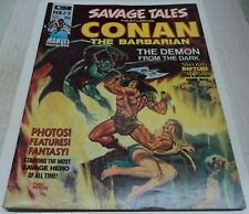 SAVAGE TALES #3 MAGAZINE (Marvel Comics 1974) CONAN (FN) Barry Smith bio