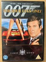 For Your Eyes Only DVD 1981 James Bond Film Movie 007 w/ Roger Moore