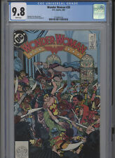 WONDER WOMAN #30 MT 9.8 CGC WHITE PAGES PEREZ COVER AND STORY MARRINAN ART