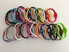 30 Pıeces LARGE Power Balance Energy Health Band Bracelet- Wrist  LARGE