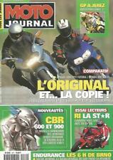 MOTO JOURNAL N°1471 CBR 600 ET 900 / APRILIA 1000 RST FUTURA / HONDA 800 VFR FI