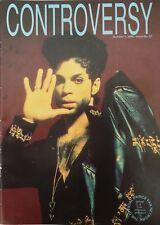 PRINCE Controversy Magazine # 37 Rare UK Original Fanzine rare October 1992