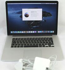 """Mid 2014 MacBook Pro A1398 Retina 15.4""""  i7 2.5Ghz 16GB RAM 512GB SSD Nvidia"""