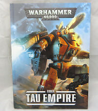 Warhammer 40k Tau Empire  H/C army codex army book
