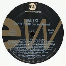 """12"""" US ** il EFX-rap Scholar (EastWest Records'98/PR-Copy) *** 6824"""