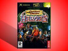 DUNGEONS & DRAGONS HEROES COMPLETO XBOX USATO SICURO! VERSIONE ITALIANA!