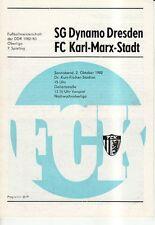 OL 82/83 FC Karl-Marx-Stadt - SG Dynamo Dresden
