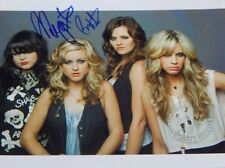 THE DONNAS Autographed Signed RARE COLOR 8x10 Photo Maya Ford & Brett Anderson