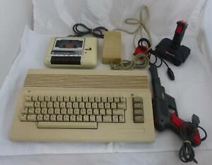 Commodore 64C with Datasette, Power Supply and Extras - Unboxed - Please Read