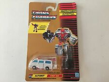 Transformers G1 1990 FIRST AID MOSC defensor european MB spannish