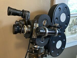 READ | Bell & Howell Eyemo 35mm Motion Picture Camera with two lenses