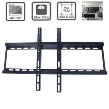 Fixed Wall Mount TV Bracket Slim Flat 32 34 40 42 45 50 55 65 68 70 inch PLASMA