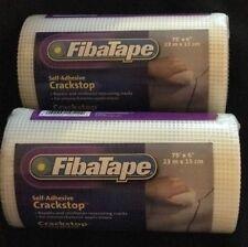 2 X Fibatape Self Adhesive Crackstop Repair Fabric Fiberglass 6