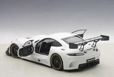 Autoart MERCEDES BENZ AMG GT3 PLAIN BODY MATT WHITE COMPOSITE 1/18 New In Stock!