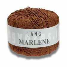 11,90 €/ 100g Marlene 50g Lang Yarns Fine and Shiny for Lightweight Strickteile