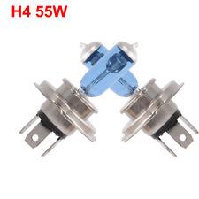 2Pcs Car Auto H4 HID Xenon Super White Headlight 12V 55W Halogen Bulb Lamp Light