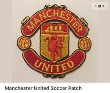 Manchester United Soccer Patch