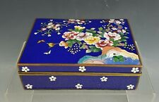 Antique Japanese Meiji Period Cloisonne Jewelry Box