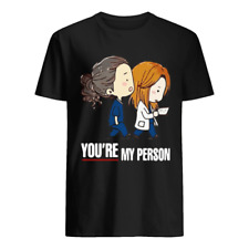 GreyS Anatomy YouRe My Person Shirt Vintage Gift For Men Women Funny Black Tee