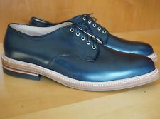 NEW! ALDEN x J CREW 11 11.5 NAVY CHROMEXCEL DOVER PLAIN TOE BLUCHER FLEX WELT