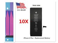 """Lot 10 OEM Original 2915mAh Battery Replacement iPhone 6 Plus 5.5"""" w/adhesive"""