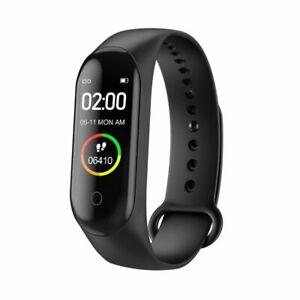 M4 Smart Band Fitness Tracker Watch Sport Bracelet Heart Rate Blood Pressure NEW