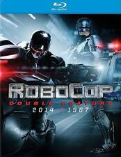 Robocop: Double Feature 2014 + 1987 ~ 2 Robocops (Blu-ray Disc, 2014) New