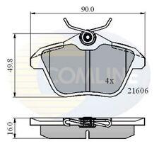 Comline Rear Brake Pad Set CBP01095  - BRAND NEW - GENUINE - 5 YEAR WARRANTY