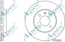 FRONT BRAKE DISCS (PAIR) FOR VW CADDY GENUINE APEC DSK568