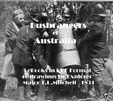 CD - Bushrangers of  Australia Collection - 9 eBooks + Bonus Pics-Art