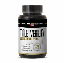 Helps Reverse Osteoporosis - MALE VIRILITY 1300mg - Maca Root Extract Powder 1B