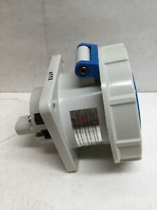 Bryant 430R9W Pin & Sleeve Watertight Receptacle 3 Pole 4 Wire Grounding