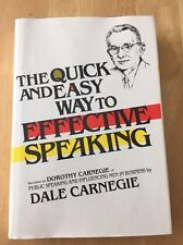 The Quick and Easy Way to Effective Speaking by Dale Carnegie (1985 HC) Good