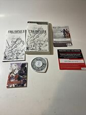 New listing Rpg Final Fantasy Iv: The Complete Collection (psp) Complete With Cards! Rare