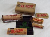 RAW Brand Set 6 Piece Set 79mm Paper Rolling Machine Tin Tips Lighter Bag -8-