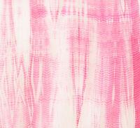 2½ Yards. Hand-Dyed, India, Shibori, Cotton Fabric. Tie-Dye, Bandhej, Pink.