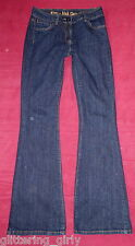 South Kitty Kick Flare bootflare Denim Jeans UK 10 Long