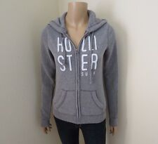 Hollister Mujer Logo Chaqueta Polar TALLA XS Sudadera con Capucha