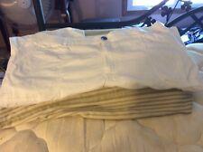Croft & Barrow White Plus Sized White Cotton Cropped Pants. Size 3X.