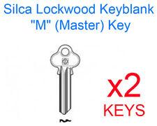 1 Pair Silca LW29 Lockwood 6 Pin Key Blanks FREEPOST