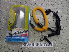 Sea-doo Kawasaki Jet-Ski Yamaha Wave-Runner Wrist-Lanyard-Key Floating Yellow