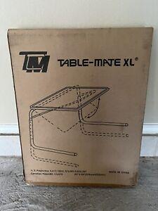 Table-Mate II Folding TV Tray - Brown