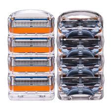 4 Pc Rasage Lames De Rasage Barbe Rasoir A Main Razor Gillette Fusion Proglide
